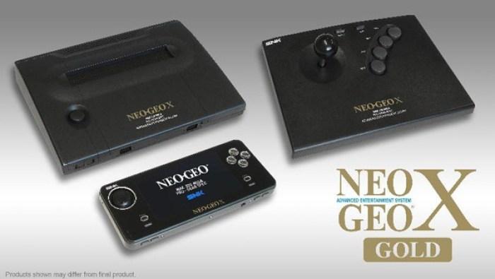 Neo Geo X Gold