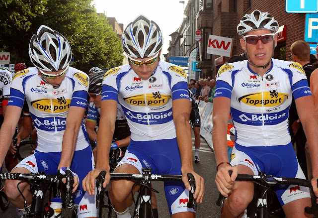 de Topsport Vlaanderens renners