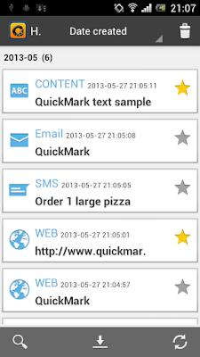 *利用QR快速完成動作:QuickMark QR Code (Android App) 4