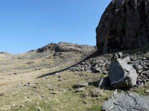 Below Seathwaite Fell.