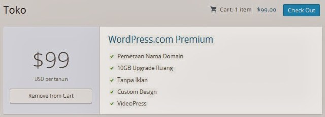 Paket Upgrade WordPress