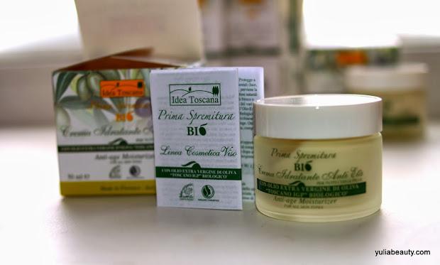 увлажняющий антивозрастной крем Idea Toscana