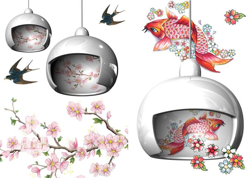 *Juuyo藝妓假髮燈具:Lorenza Bozzoli 詮釋日本文化的神秘魅力! 2