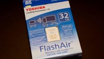 Toshiba flashair w-02