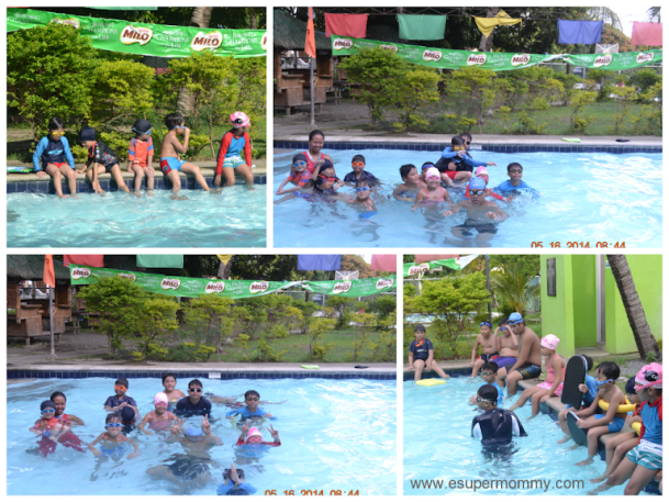 Milo Swimming Sports Clinic at Citihomes Subdivision 3rd Batch 2014