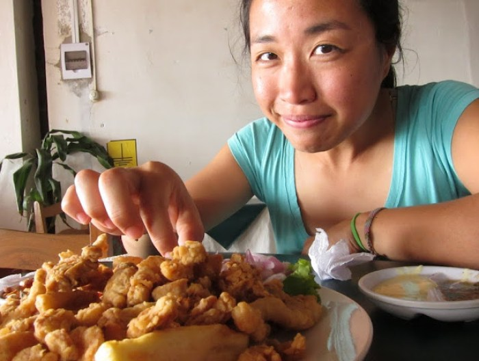 More chicharron, Trujillo, Peru