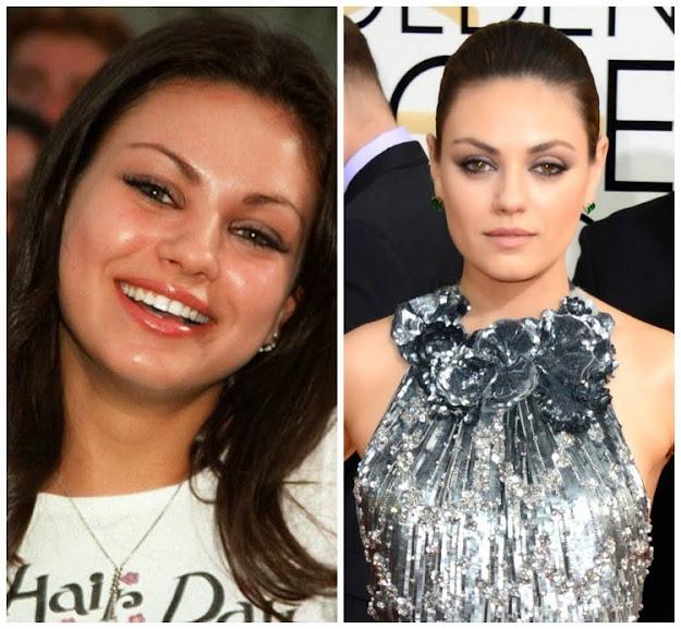 A sobrancelha faz a diferença: Mila Kunis