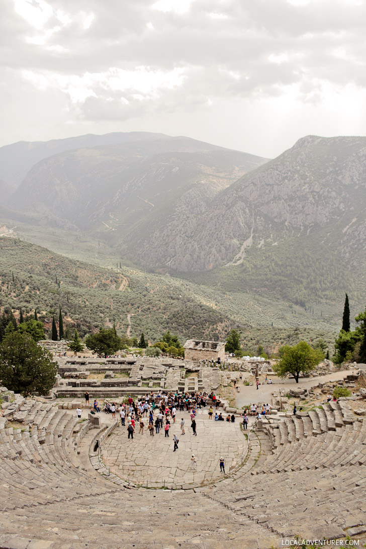 Delphi Theater - Day Trips from Athens Greece.