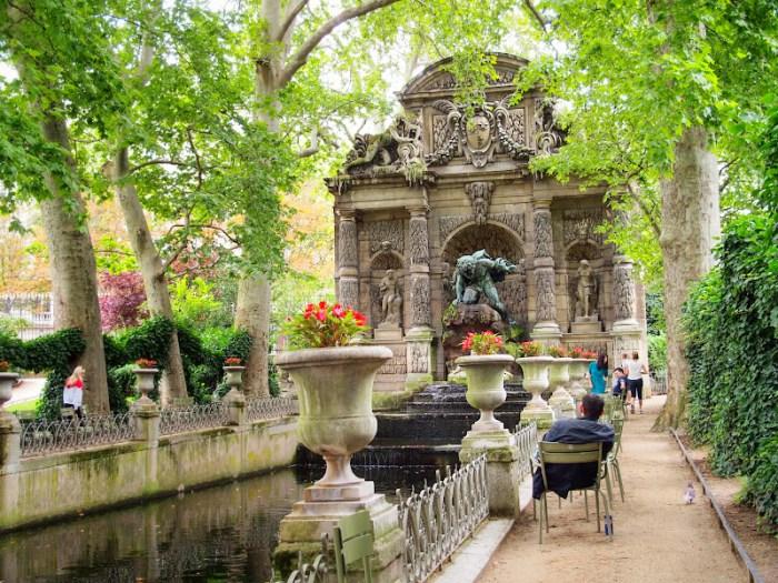 My favorite corner of Jardin de Luxembourg