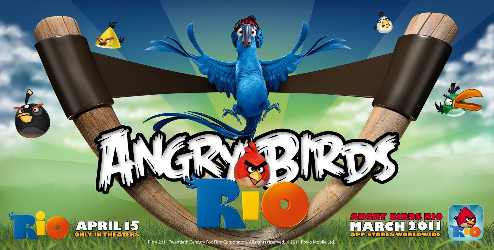 Angry Birds Shipped to Rio for New App & Movie (w/ iTunes GC