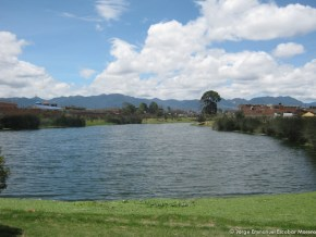 Espejo de agua, Humedal La Vaca