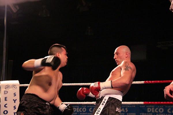 Ringo Verbauwhede vs Torres Suarez Mohammed, boksmeeting Harelbeke 22 maart 2014