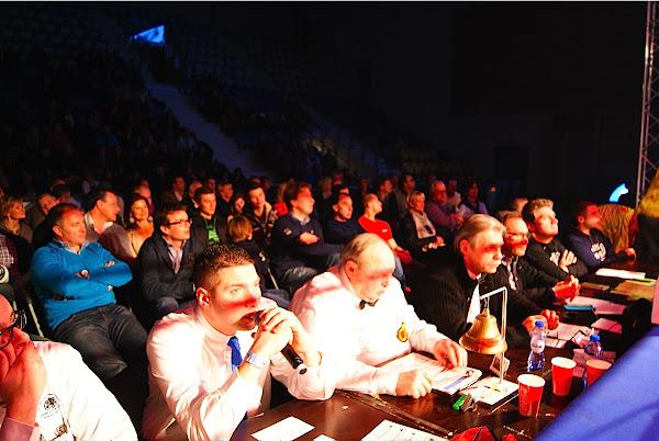 jury en speaker boksen