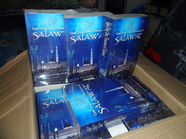 Buku Shalawat Nabi One Day One Thousand Salawat Edisi Perdana