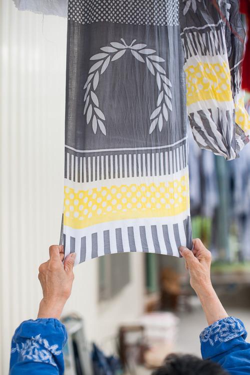 #藝術家高橋理子嶄新水玉線條呈現:FRED PERRY日本傳統手工拭巾 5