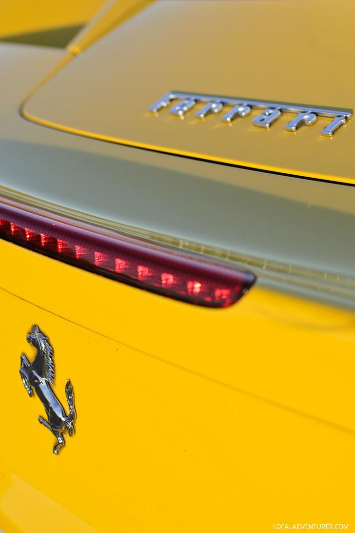 Test Driving a Ferrari >> Drive Exotic Cars Las Vegas.