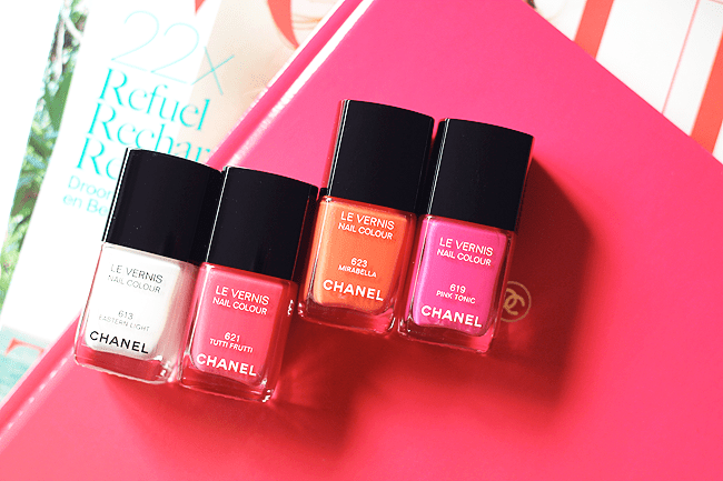 Chanel Reflets d'Eté: Les Vernis preview