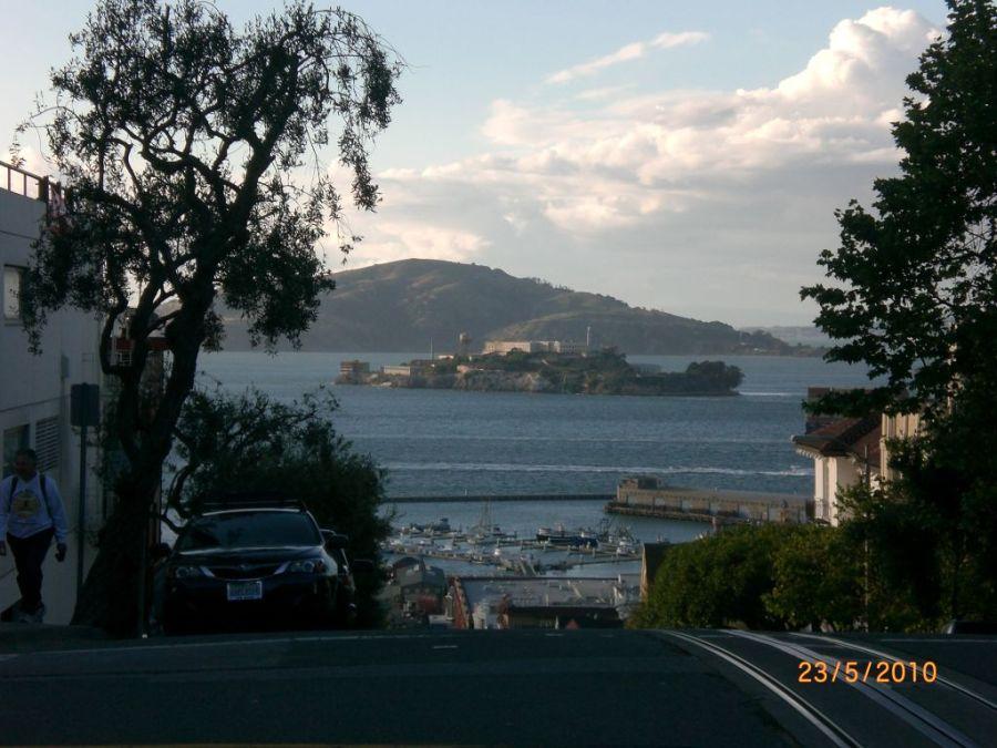 San Francisco Alcatraz hapishanesi