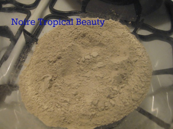 bentonite clay on natural hair
