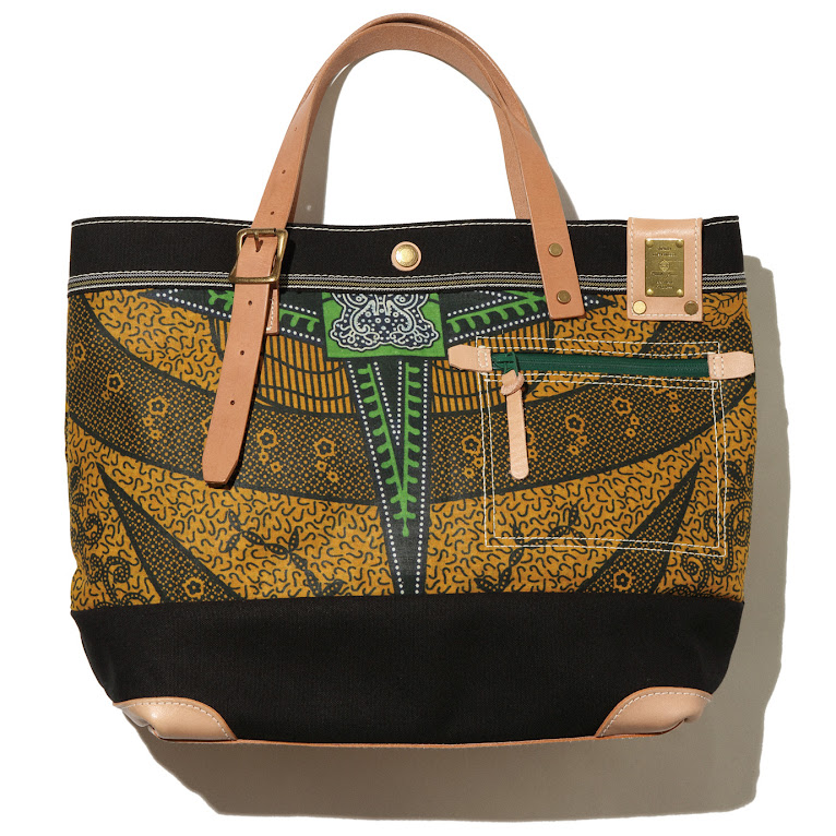 * 當日本職人遇上非洲風情:傳統 kitenge 織布TRACK托特包! 3