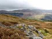 View towards the Ulpha Fells from the Muncaster Fell ridge