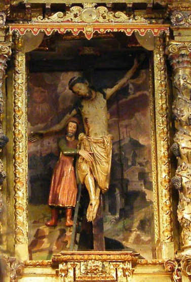 Rioja Alavesa. Cristo de la Ermita del Santo Cristo