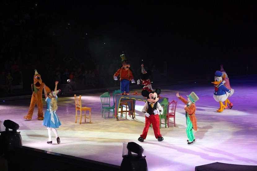 Disney on Ice Mad Hatter