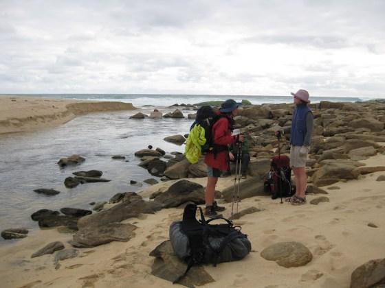 Natalie and Georgina, Willyabrup Brook, Cape to Cape Track