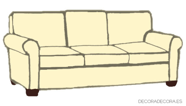 Tipos de sofá según su estilo