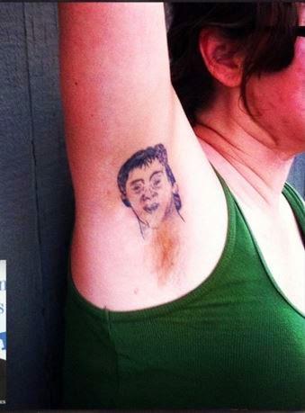 Underarm Tattoos