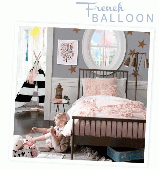 Decorar dormitorios de niñas.