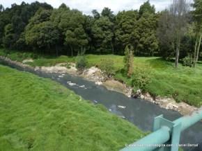 Río Tunjuelo altamente contaminado