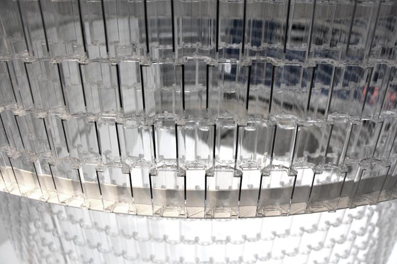 *透明的LEGO大型水晶吊燈:設計師Tobias Tøstesen親手編造! 3