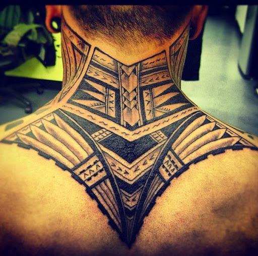 neck tattoos for guys