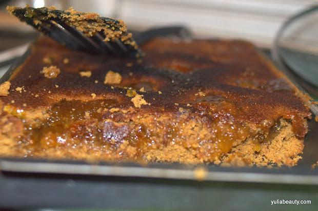 тосканская кростата с джемом и коричневым сахаром