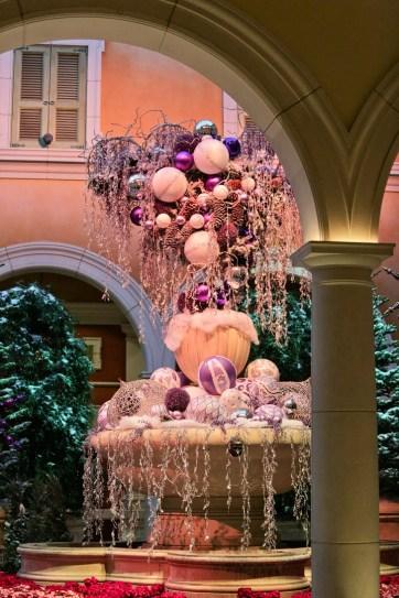 Christmas at Bellagio Atrium.