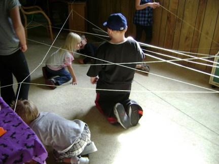 Spider Web of Hexbugs