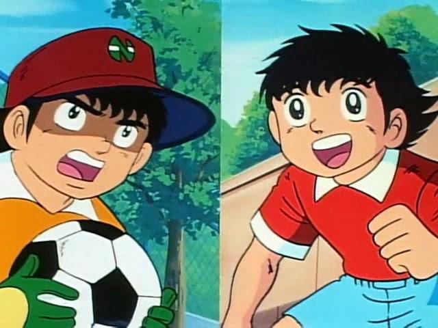 Oliver y Benji, Captain Tsubasa, Crying Grumpies
