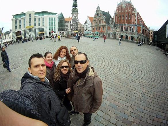 Qué ver en Riga. Plaza del Ayuntamiento, Riga