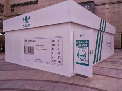 Adidas Shoebox Shop stan smithadidas originals - dhempe travel blog