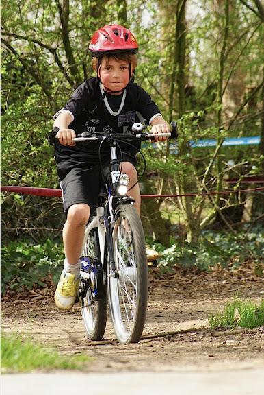 kinderen mountainbiken