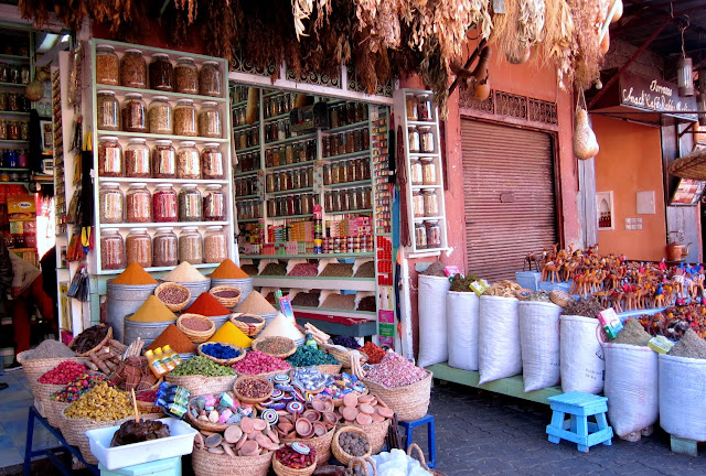 A Berber pharmacy, Morocco