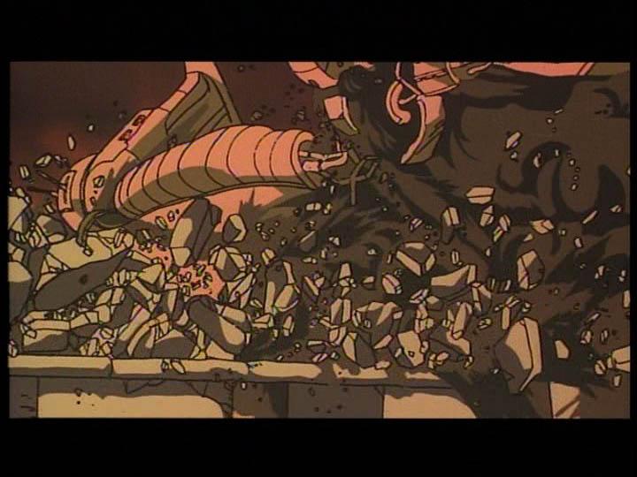 主角決定投效軍方,與車隊同伴米蘭妲爭執。
