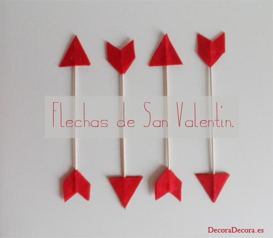 Flechas De Amor Para Decorar En San Valentin - Decoracion-san-valentin