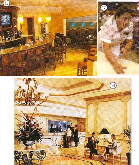 Hotel - Work/ occupations – Picture Dictionary