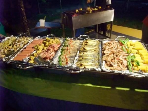 Harris Resort Grill Dinner