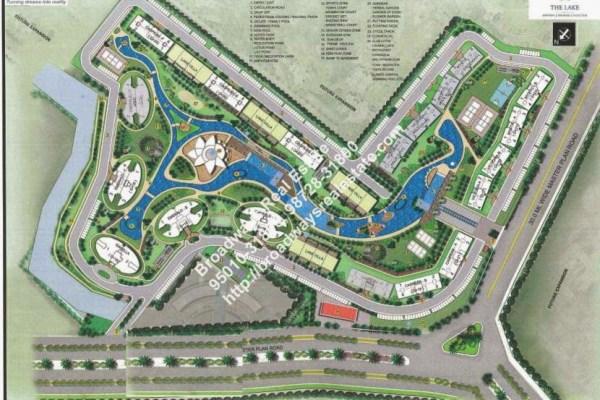 Omaxe Lake Apartment Site Plan