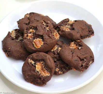 eggless fudgemallow cookies