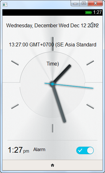 แอพนาฬิกา