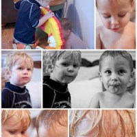Wordless Wednesday - Toddler Boy Edition